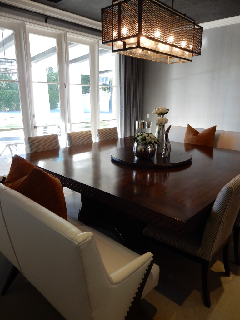 transitional edge dining room 097